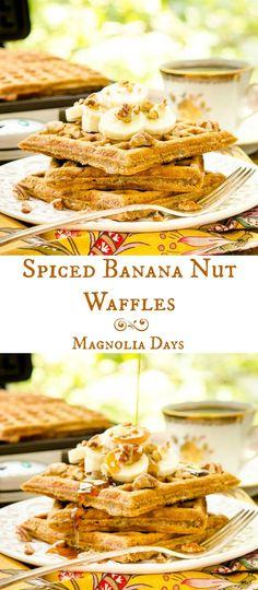 Spiced Banana Nut Wa