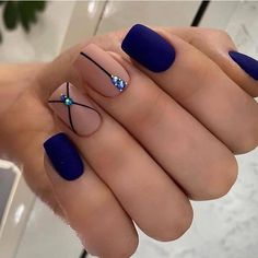 Chic Nails, Stylish Nails, Swag Nails, Grunge Nails, Best Acrylic Nails, Acrylic Nail Designs, Nagellack Design, Square Nail Designs, Pretty Nail Art
