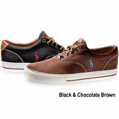 Ralph Lauren Polo Men's Canvas Sneaker, $65 by corina