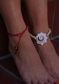 Conch Anklet or Armlet  by Rum Cay Island Jewelry