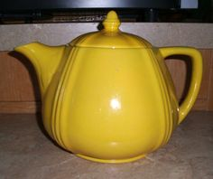 California pottery Padre large 10 cup teapot, unknown number