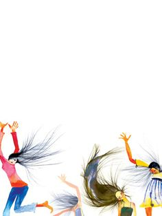 """Dance Party - Masha D'yans reminds me of """"I Whip My Hair Back and Forth..."""""""