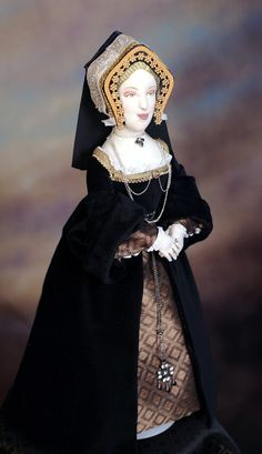 Doll based on Catherine of Aragon