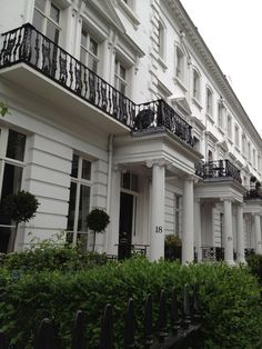 South Kensington, London, England.  We went from the Russian River, CA., to go to school in London. Lived at 54 Onslow Gardens. It looked much like this. Special student housing if you paid for it. bhk
