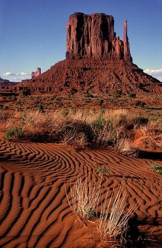 Left Mitten, Monument Valley; photo by Dave Mills