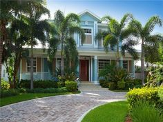 2999 Crayton Rd, Naples, FL - $2,100,000, 4 Beds, 4 Baths. A classic Olde Florida style home showcasing elegance and quality. This two-story residence offers Brazilian cherry floors throughout the main living areas, a fireplace set in the great room that leads you into a chef\'s kitchen with gas cooking center. Additional detailed features include custom millwork, built-in buffet server, tray ceilings,...
