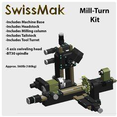 SwissMak - The Mill Turn Center for your machine shop by Overlord Robotics Corporation — Kickstarter
