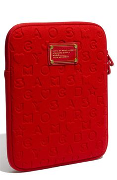 MARC BY MARC JACOBS 'Stardust' iPad Case, Cherry Red