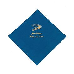 http://www.orientaltrading.com/blue-personalized-graduation-luncheon-napkins-gold-print-a2-70_1407 G.fltr?prodCatId=90000 1256 1397