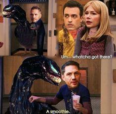 Memes Symbrock (EddiexVenom) - - Wattpad Sequel to the box-office hit film Venom. Funny Marvel Memes, Dc Memes, Avengers Memes, Avengers Imagines, Marvel Venom, Marvel Dc Comics, Marvel Avengers, Venom Mcu, Spideypool