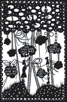 Rob Ryan papercuts - The Stars Shine All Day Too