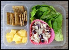 100 days of real food. Chicken salad.
