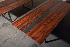 Reclaimed Redwood Streetsense Conference or Dining by MezWorks