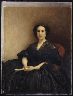 Portrait de madame Jules Labat Bonnat Léon Joseph Florentin (1833-1922)