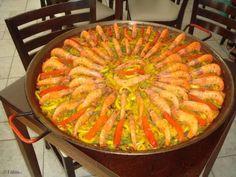 Aprenda a preparar a receita de Paella Valenciana