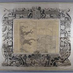 Kaart van Suriname, Alexander de Lavaux, J.G. de Lacroix, 1737 - Rijksmuseum
