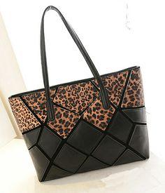 Leopard Print Fashion Hand Bag