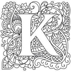 Mendhika Letter K_image