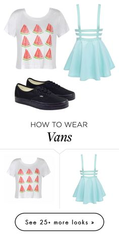 """@mimikkoleva choice"" by aspenrose321 on Polyvore featuring Ally Fashion and Vans"