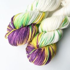Crocus in the Snow. Little pops of colour on bright clean whites - this was yarn club this month and I was so humbled by the response. Thank you ( and the spares are now available on the website)
