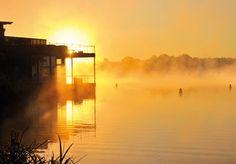Auspannen im Wellness-Resort mit Seeblick in Brandenburg