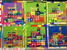 Hundertwasser  Auf diese Post-Reihe freue ich mich schon eine ganze Weile. Sie ist dem Künstler Friedensreich Hundertwasser (1928 - 2000) g...
