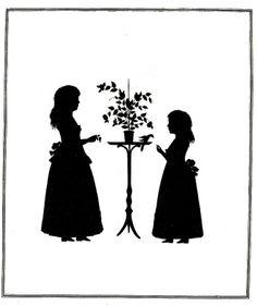 Die Goethezeit in Silhouetten 1911 Prinzessinnen von baden   ill  49