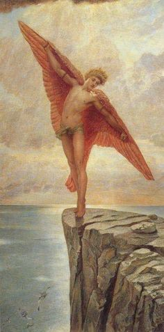Greek Mythology Painting - Icarus By Richmond by William Blake Richmond William Blake, Daedalus And Icarus, English Poets, Art Gallery, Pre Raphaelite, Angels And Demons, Fine Art, Greek Mythology, Great Artists