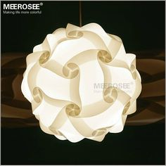 Aliexpress.com : Buy DIY Modern Pendant Ball novel lamp Plastic pendant lamp white color pendant lights,size 25cm/30cm/40cm from Reliable light lamp shade suppliers on Meerosee Lighting Co., Ltd