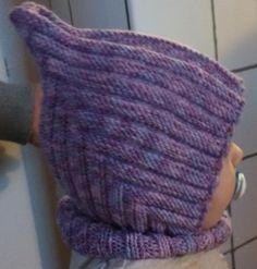 Praktisk baby/barnmössa | Baby Hats Knitting, Knitting For Kids, Baby Knitting Patterns, Knitting Socks, Knitted Hats, Crochet Baby, Knit Crochet, Baby Hut, Baby Barn