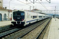 Rama de la serie Talgo VII. Estación Linares-Baeza