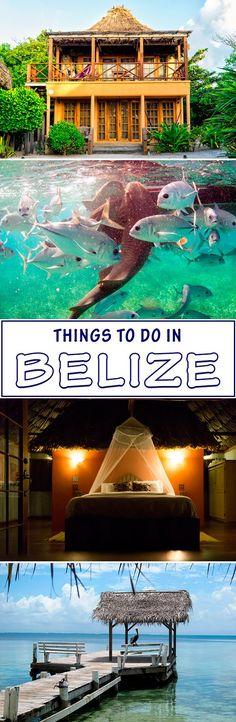 Las mejores cosas que hacer en Belice