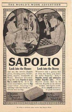 Sapolio's Soap (1907)