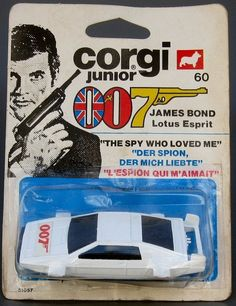 "Corgi Junior James Bond ""The Spy Who Loved Me"" Lotus Esprit."