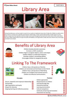 This template can be used to show how a child benefits from the library area. A library is an essential part of an early childcare setting. Cooperative Learning, Play Based Learning, Learning Through Play, Early Learning, Eylf Learning Outcomes, Learning Stories Examples, Aussie Childcare Network, Preschool Transitions, Early Childhood Education
