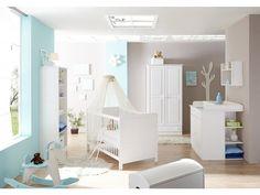 Cute Babyzimmer Moritz teilig Kiefer wei Babyzimmer