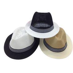 eb70a5848e344 Ventilated Classic Men s Fedora Fedora Hats