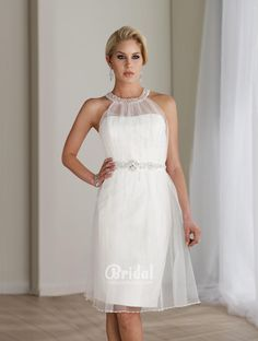 casual wedding dresses knee length - Google Search