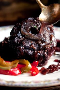 NYT Cooking: Lamb Necks Braised in Wine With Peppers