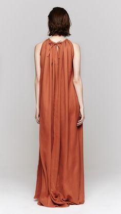 Heidi Merrick Grecian Dress in Sienna Modest Fashion, Boho Fashion, Fashion Outfits, Fashion Design, Chic Dress, Dress Skirt, Grecian Dress, Moda Casual, Cotton Dresses