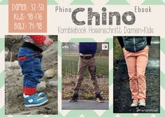 "E-Book Kinderchino ""PhinoChino"" Teen Babes, Tween, Boy Outfits, Little Ones, Diys, Sewing Patterns, Etsy Seller, Baseball Cards, Children"