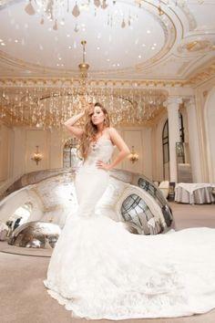 Adrienne Bailon Houghton's wedding dress | Weddings ...