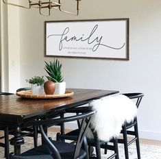 N/ A Farmhouse Decor Wall Decor This is us Sign Dining Room Wall Art Large Wood Sign Farmhouse Sign Large Living Room Decor Dining Room Wall Decor, Farmhouse Wall Decor, Farmhouse Style Kitchen, Dining Room Design, Modern Farmhouse, Decor Room, Dining Rooms, Country Kitchen, Farmhouse Ideas