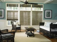 Woven Wood Shades from Budget Blinds come in a wide variety of beautiful styles. Schedule a free in-home consultation to see our full line of Woven Wood Shades. Curtains Living Room, Woven Wood, Shades Blinds, House Blinds, Modern Living Room Interior, Curtain Designs, Home Decor, Window Shades, Custom Window Treatments