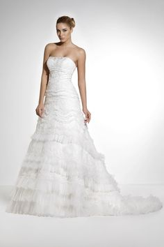 Oleg Cassini lace wedding dress