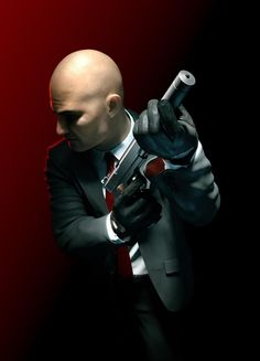 Does this look a little awkward to anyone else? e3o Bro... Do you even shoot? -Will #hitman #hitmanagent47