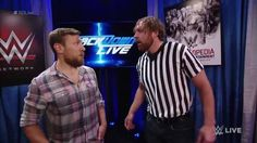 Even though Dean Ambrose can't be the special guest referee in the WWE SmackDown Live main event, it doesn't mean he won't be there....