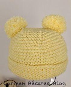 Baby Beanie – La malla de Mille aux Mille - Best İdeas Of Life Crochet Baby Hats, Diy Crochet, Knitted Hats, Baby Boy Knitting Patterns, Baby Knitting, Tricot Baby, Baby Dior, Mad Hatter Hats, Bonnet Hat