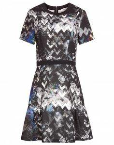 Sandro-paris GEOMETRIC PRINT DRESS  $390