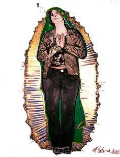 """""""Sister Guadalupe"""" de Andrea Valencia @ VirtualGallery.com"""